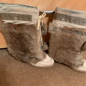 Coach Maryann fur boot